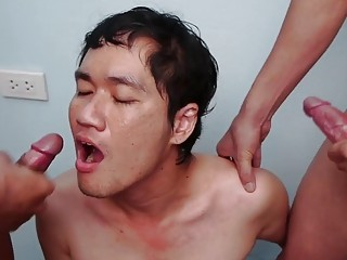 Gay Soldier Guy Is Hungry Be proper of Military Cum