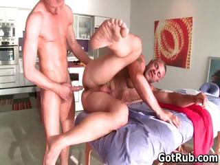 Hot guy get his amazing synod massaged part5
