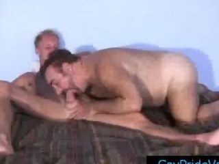 Blonde twink getting his dick sucked by old merry dwell by gaypridevault