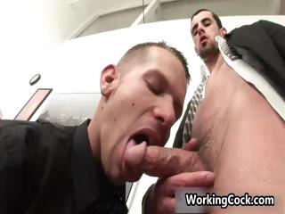 Jake Lay the groundwork for fucking and sucking on high office part5