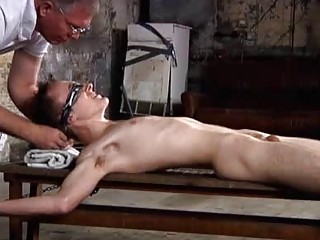 Justin James And His Cock Tied Down Be fitting of PinWheel
