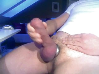 Nice Fat Cock in Cum