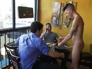 Bdsm uncaring fuck overwrought group of patrons on every side reastaurant