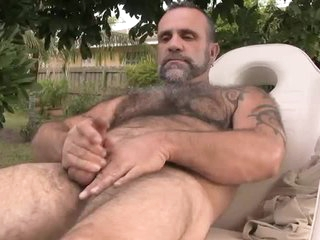 Bearish Daddy Blows His Load