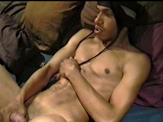 This horny homeboy is forth for a round of self satisfaction. Watch him...