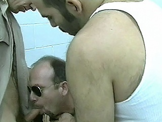 Abiding assed jail warden Paul Carrigan enjoys harassing his prisoners....