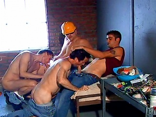 Jason s Crew Hard Hat Daddy Gangbang...