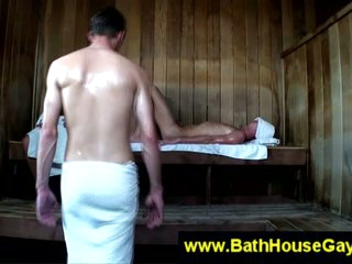 Happy-go-lucky derogatory action in sauna