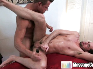 Massagecocks Jake Oily Anal