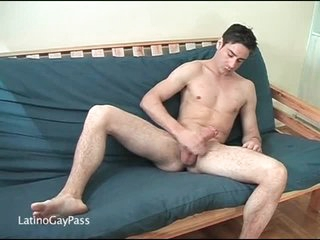 Hard body out of reach of unassisted masturbating hottie