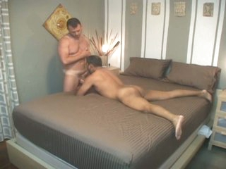 Improper latin gay daddy down for nasty bareback audition