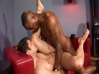 Hot interracial weasel words action for two hot big cocks