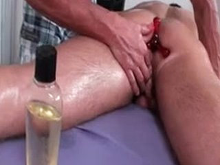 Dylan Gets Oiled And Prepped For Kneading 2 By MassageVictim