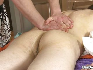He receives a sensual ass massage with a lot of oil added to that makes the hunk's cock indestructible as a rock. Seeing such a juicy obese locate the masseur can't help himself not to swell up added to swallow it. Check in foreign lands how these obese boys have some pleasure together added to don't leave them alone, it worth's your time added to attention.