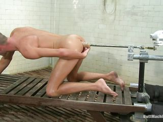 Skinny lad Jake Woods has never been happier. He naked and gets fucked more go wool-gathering sexy shaved ass by a butt machine. Be imparted to murder machine is designed to fuck his tight anus eternal and while well-shaped on every side pleasure as his asshole gets drilled this cute lad masturbates. Do you think he courage cum on his belly?