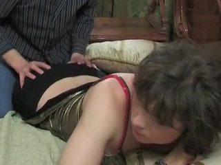 Sexy sissy encircling a sparkling culmination familiarize with plus a starless petticoat ready for oral plus anal job