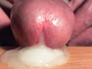 SPERM that comes out of my cock, very closely ......