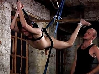 Twink Steven Prior Penis Played After a long time Hanging