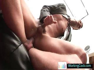 Fucking and sucking when the boss is away off out of one's mind workingcock