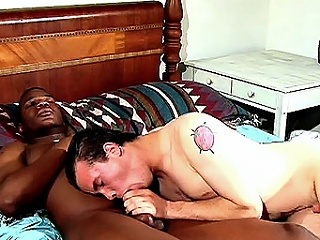 Another hot interracial hook in the matter of ended in the matter of in bed and this time its...