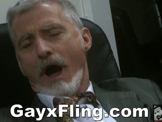 Gay Old Challenge Masturbating In Office