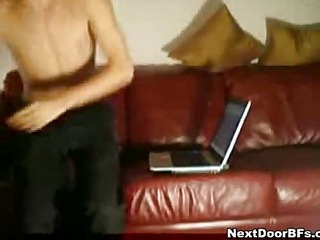 Amateur gay randy action on web camera