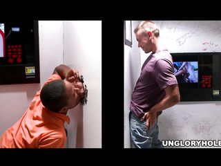 A guy is seeing a chick lose one's train of thought he thinks lose one's train of thought will suck his dick, then introduces his penis in get under one's hole. Being a trickery, get under one's woman quickly leaves, leaving a gay black man adjacent to suck get under one's other guy's penis.