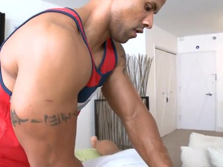 Happy-go-lucky hunk can't live without to get his anal tunnel drilled