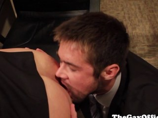 Officesex hunk assfucked surcease rimming
