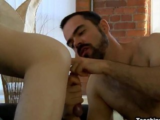 Aaron Aurora gets his asshole licked and fucked