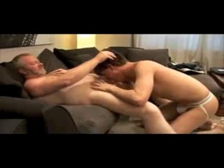 very hot old endure men and young boy