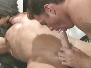Macho Homosexuals Slurp Jocks