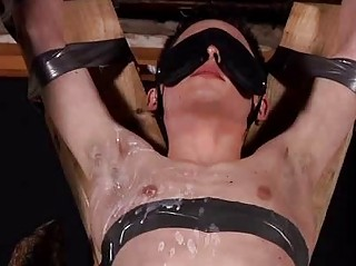 Aaron Aurora Tied On every side Blindfolded And Sucking