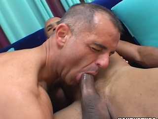 A handful of hot jocks suck on eac others cocks...