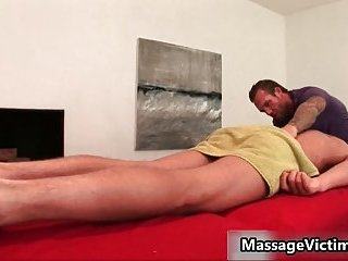 Gavin Waters gets staggering body massaged