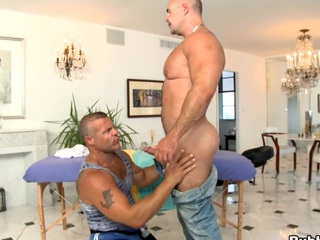 Awesome fucking guy is banged in that pustule ass! Great scene!
