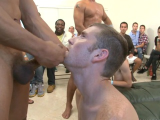 That skinny white dude desires to fill his brashness with a thick sperm