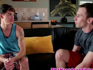 Twink twink Damian Black fucks his pal