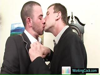 pursuit interview resulting in hot steamy gay porn Away from Workingcock