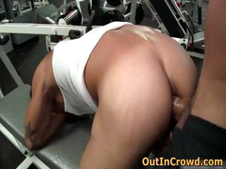Merry fuck in cause of gym 1 by outincrowd