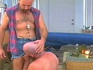 Horny Happy-go-lucky Dads Shagging Steadfast