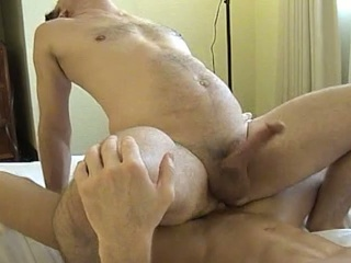 Muscled dude gets his ass licked with the addition of fucked hard