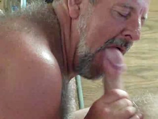 Daddy loves drag inflate and eat cum