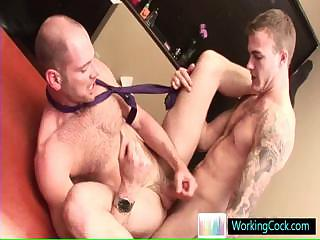Fearsome gay studs in hardcore gay porn by workingcock