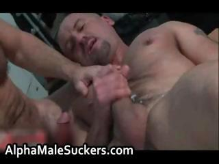 Carlo Cox and Luca Falcini in shove around