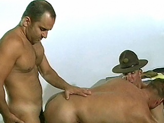 In this scene we have these military barracks outcast boys spellbinding in an...