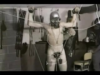 Vintage Homosexual Bondage Coupled with CBT