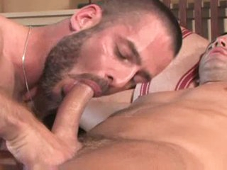 Gay fingering with the addition of hard anal pounding