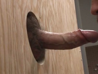Swallowing a cock flip the gloryhole