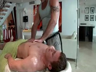 Hunky Guy Gets Oiled Up And Gay Massaged 3 By GotRub